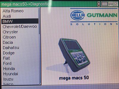 iQ4Car – Mega Macs 50 Car Diagnostic Set