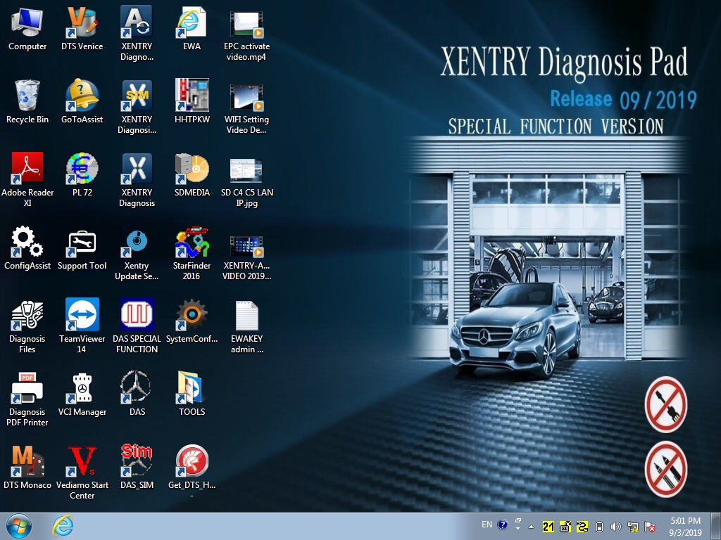 Software xentry diagnostic 2019.09
