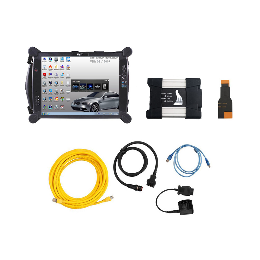 [SET] ICOM for BMW A3+B+C + EVG7 DL46 Diagnostic Tablet PC
