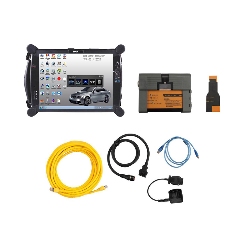 [SET] ICOM for BMW A2+B+C v.2020.03 + EVG7 DL46 Diagnostic Tablet PC
