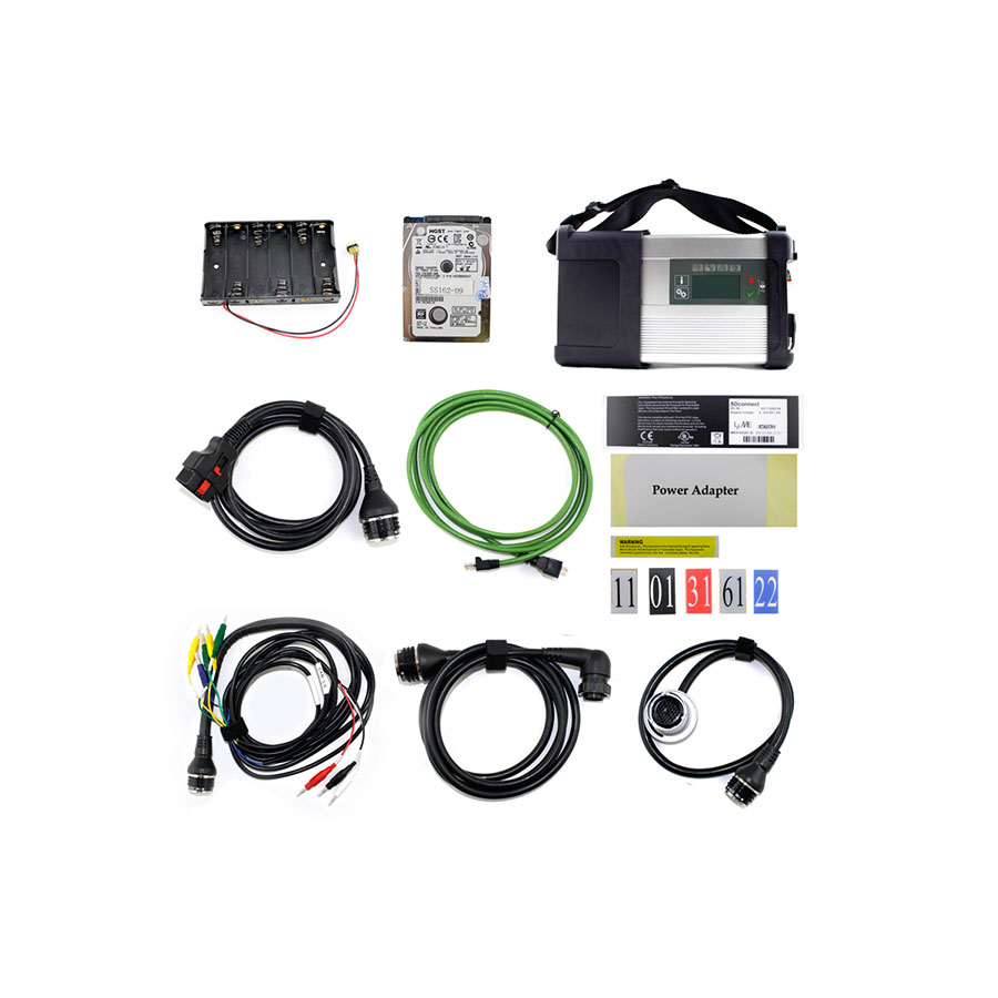 C5 MB SD Connect Diagnostic SET for Cars & Trucks