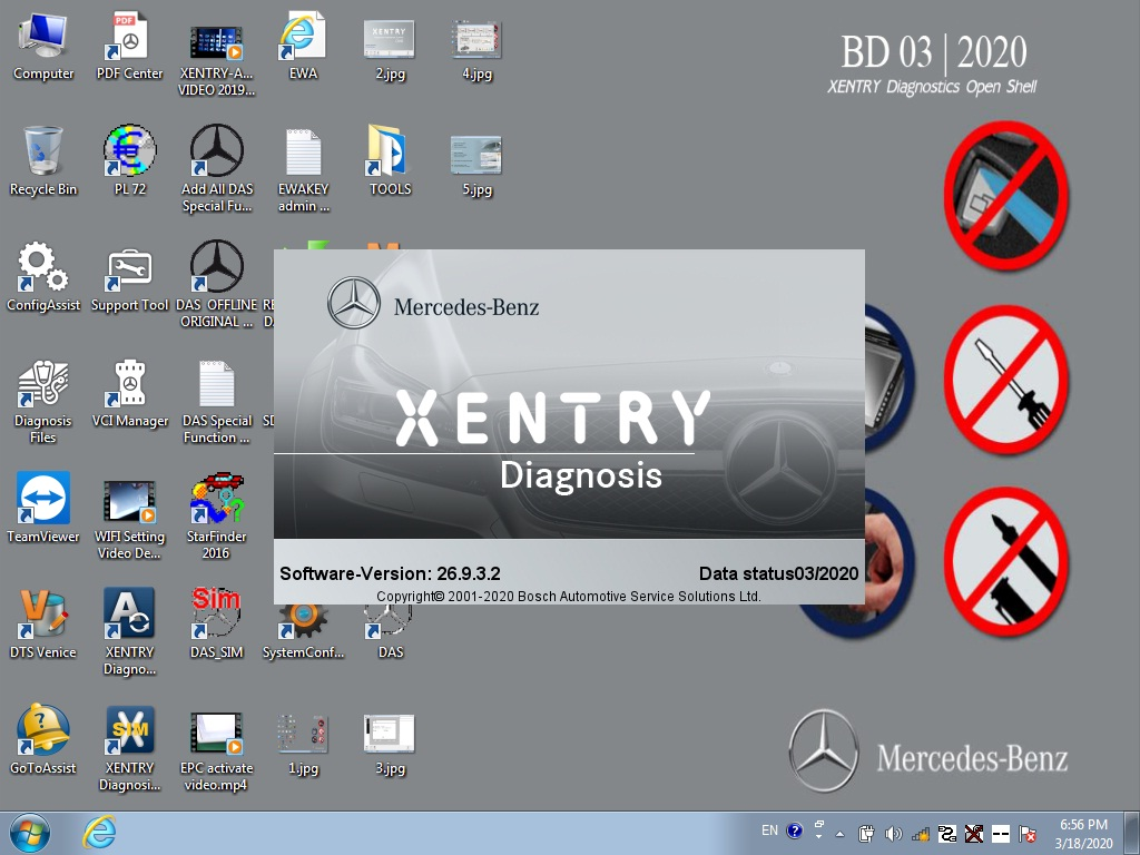 Software xentry diagnostic 2020.03