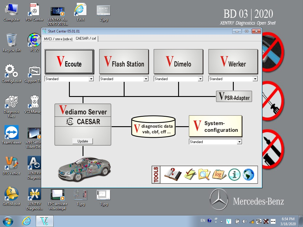 xentry diagnostic software 2020.032