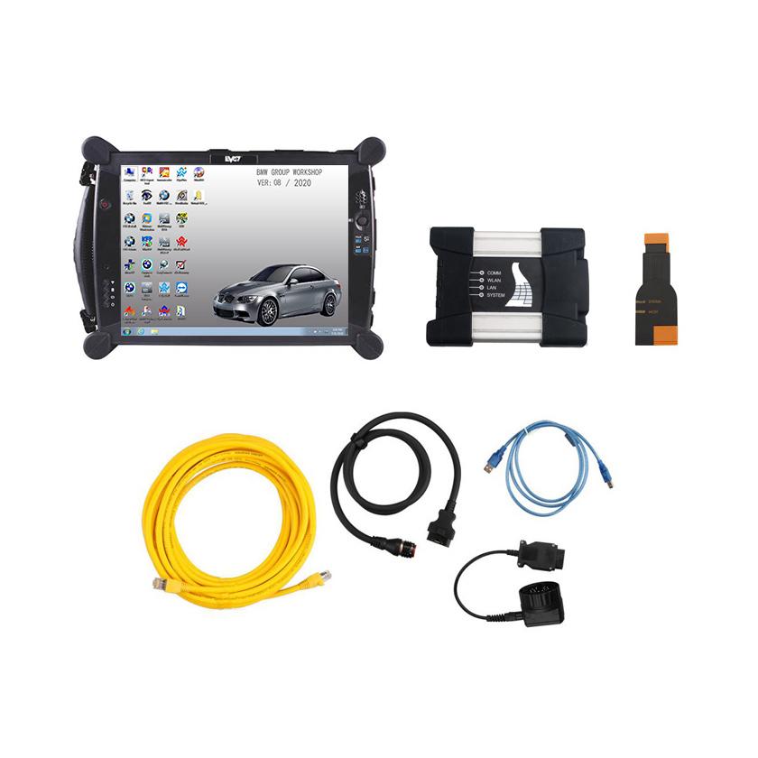 [SET] ICOM for BMW A3+B+C v2020.08 + EVG7 DL46 Diagnostic Tablet PC