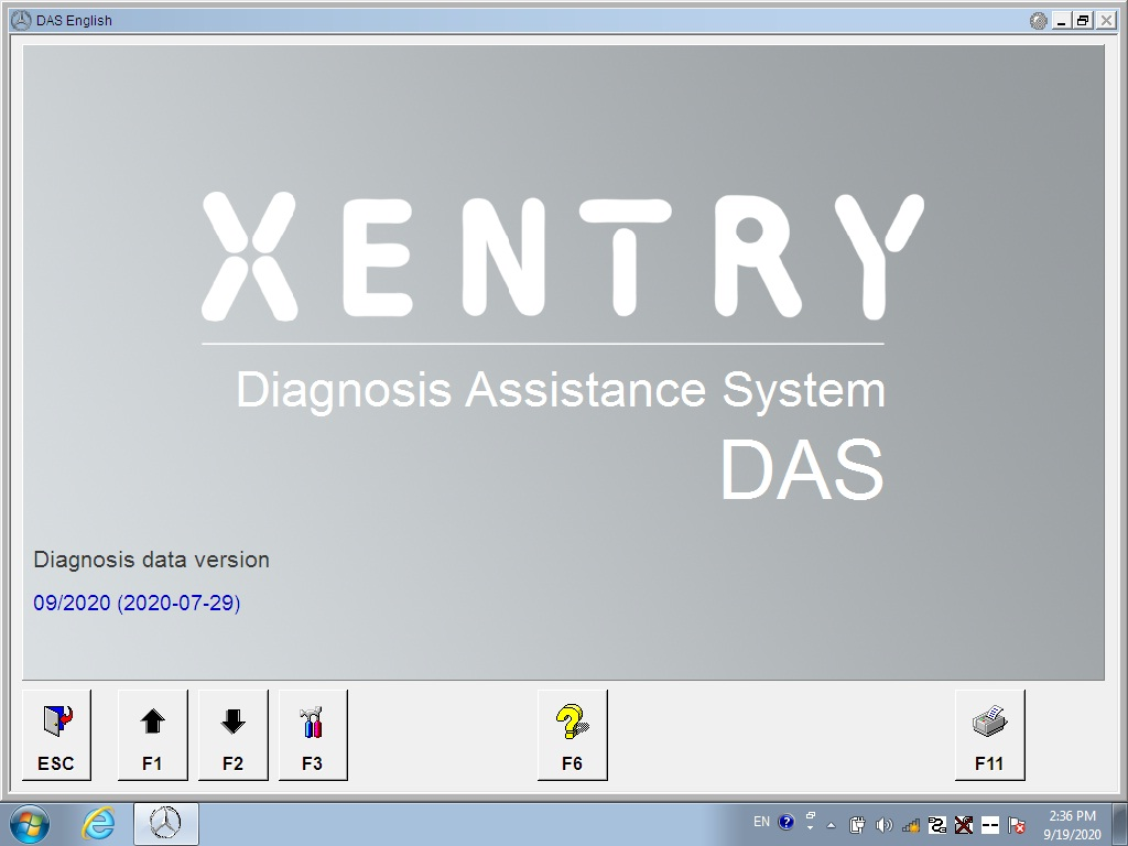 xentry diagnostic software v2020.9